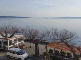 Attico vista lago
